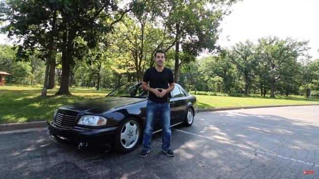 رجل يشتري مرسيدس C43 AMG موديل 1999 مقابل 750 ريال فقط!