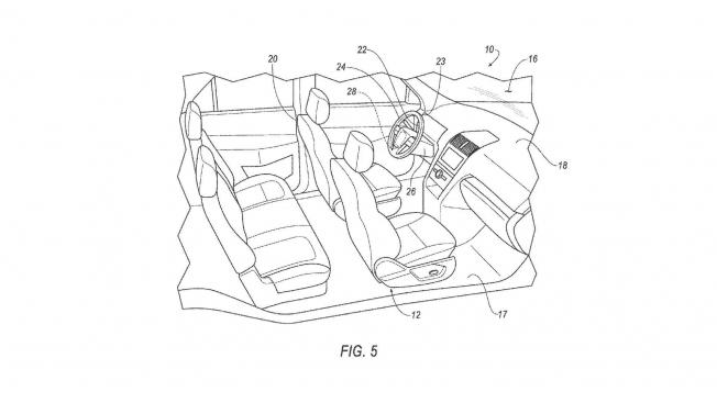 فورد تخترع عجلة قيادة ودواسة بنزين قابلة للنزع للسيارات ذاتية القيادة