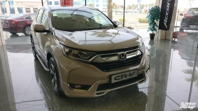 هوندا CR-V 2017 الجديدة كلياً تصل إلى السعودية بسعر يبدأ من 110 ألف ريال