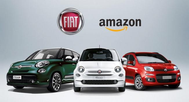 أمازون تنوي البدء ببيع سيارات فيات وسيات عبر موقعها على الإنترنت