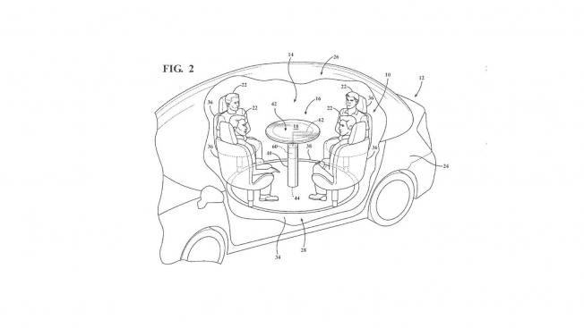 فورد تقدم مقترح لتحويل السيارات ذاتية القيادة إلى غرفة إجتماعات متنقلة
