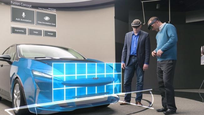 فورد تعمل مع مايكروسوفت للاستفادة من تقنيات الهولوغراف في تصميم السيارات