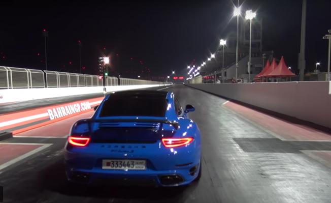 بورش 911 تيربو S بحرينية معدلة تنجح بقطع الربع ميل في أقل من 9 ثوان