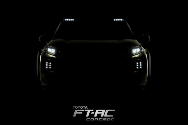 تويوتا تشوقنا FT-AC الإختبارية قبل الكشف عنها في معرض لوس أنجلوس