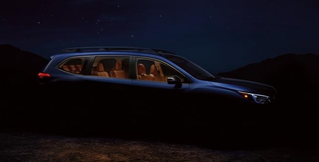 سوبارو تكشف عن صورة تشويقة لأكبر سياراتها آسنت الجديدة