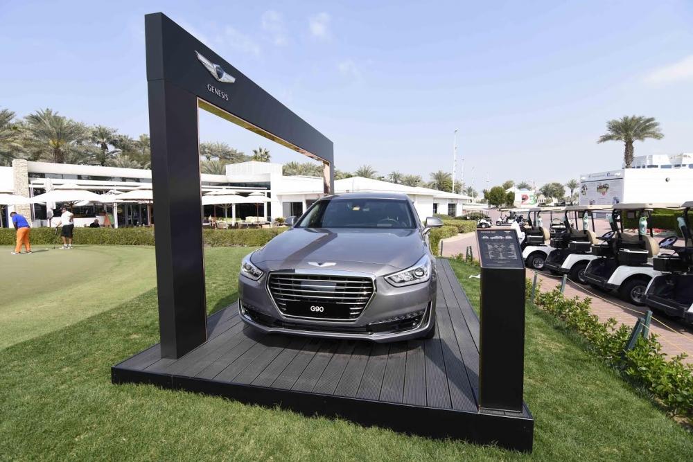"""علامة السيارات الفاخرة """"جينيسيس"""" راعياً لبطولات جولف الهواة في دبي"""