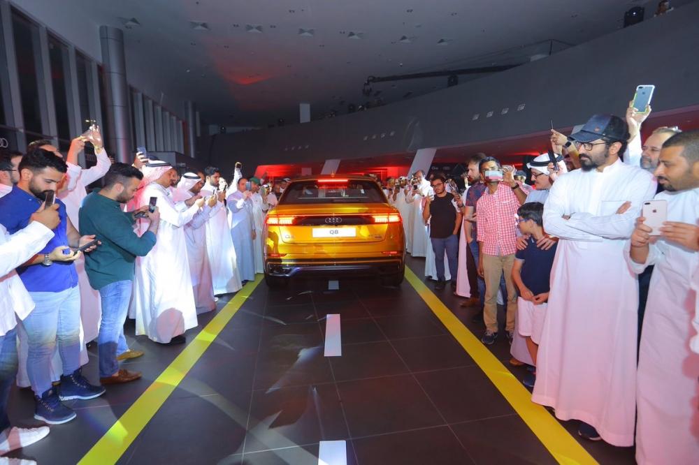 تدشين اودي الجديدة رسمياً السعودية