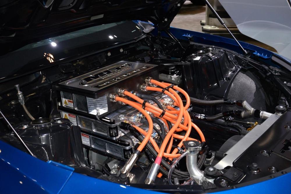كمارو eCOPO سيارة عضلات كهربائية