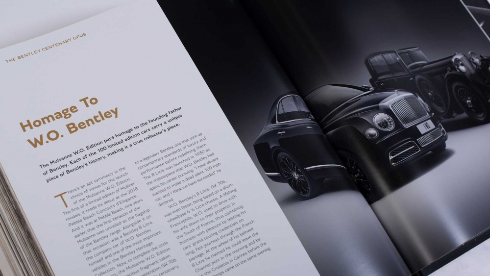 بنتلي تصدر كتاب لذكرى مئويتها بسعر سيارة جديدة! the-bentley-centenar