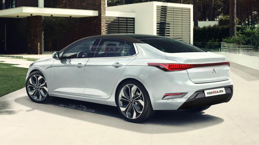 ميتسوبيشي لانسر قد تعود بجيل جديد كلياً بهذا التصميم Mitsubishi-Lancer-re