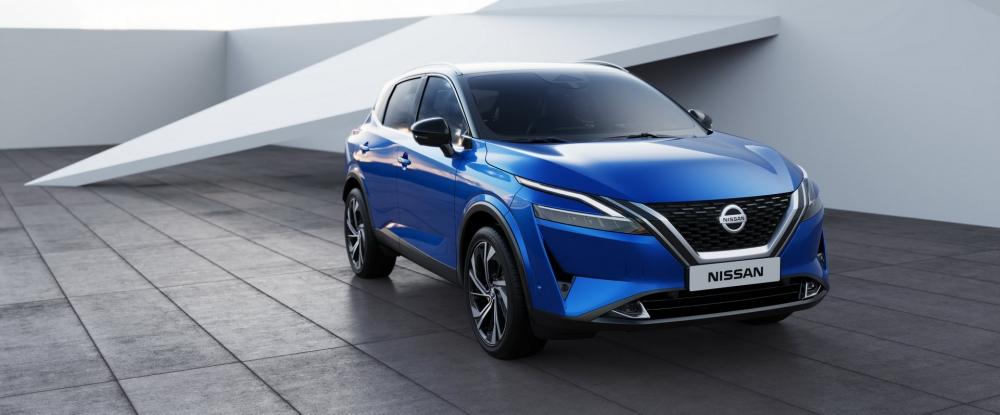 نيسان تزيح الستار عن قاشقاي 2021 الجديدة كلياً (مواصفات - صور)  2022-Nissan-Qashqai-35-1000x415