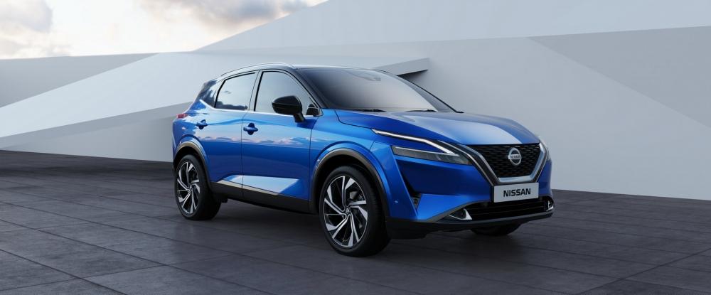 نيسان تزيح الستار عن قاشقاي 2021 الجديدة كلياً (مواصفات - صور)  2022-Nissan-Qashqai-38-1000x415
