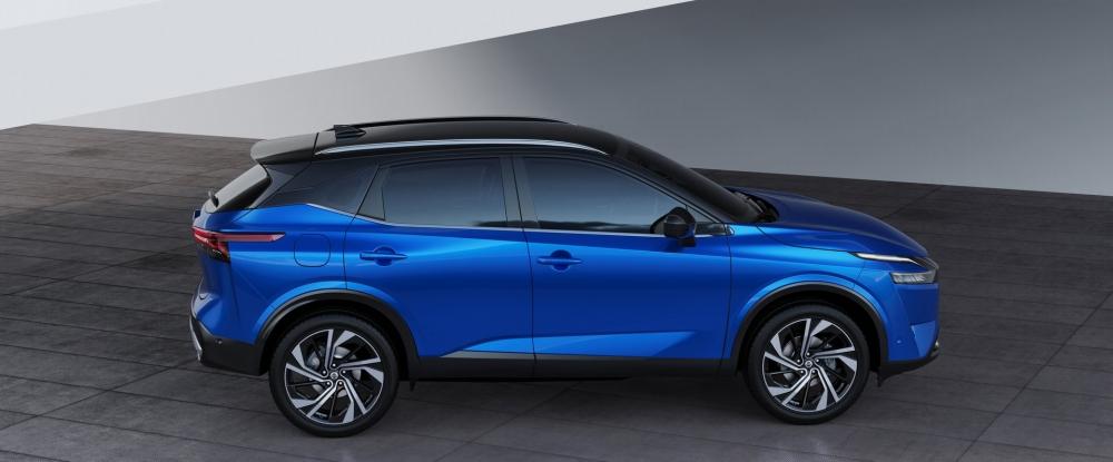 نيسان تزيح الستار عن قاشقاي 2021 الجديدة كلياً (مواصفات - صور)  2022-Nissan-Qashqai-42-1000x415