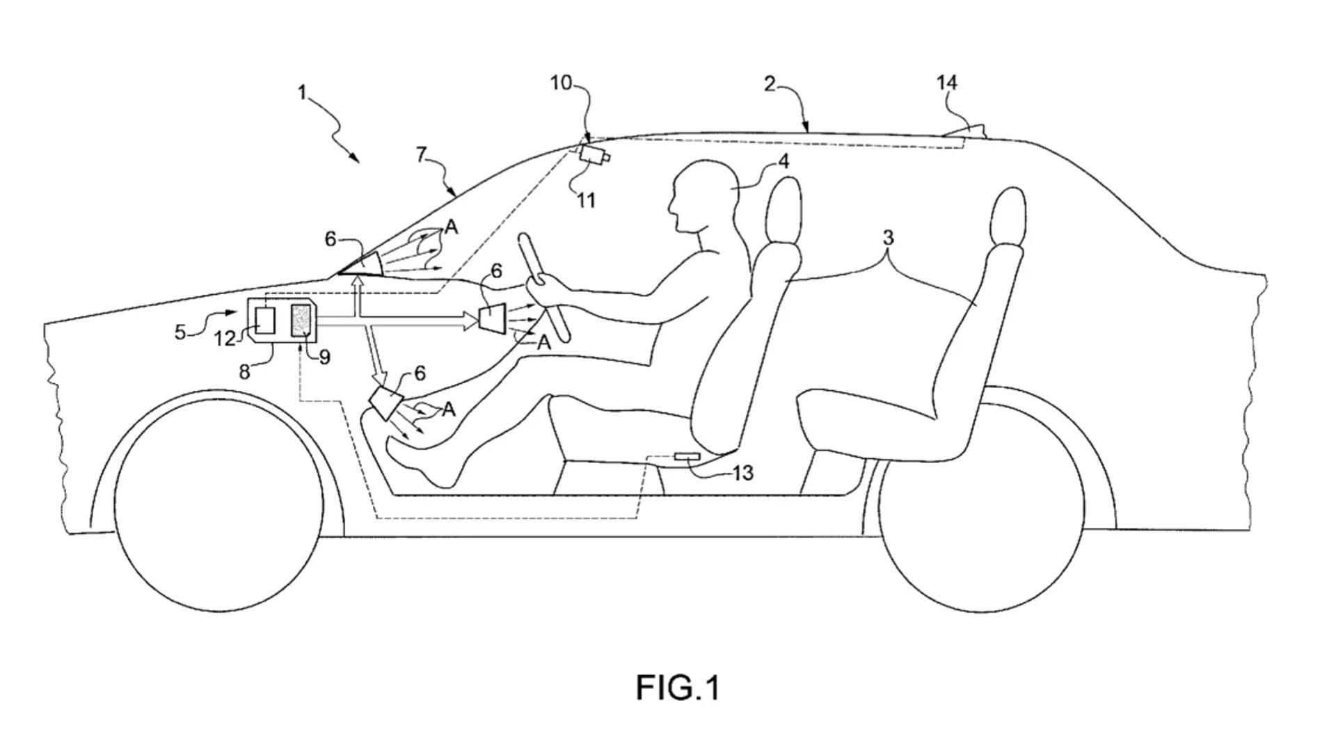 سجلت فيراري براءة اختراع لنظم مكيف جديد، والذي سيضيف المزيد من الراحة للركاب في حال نفذت الشركة في سياراتها المستقبلية.