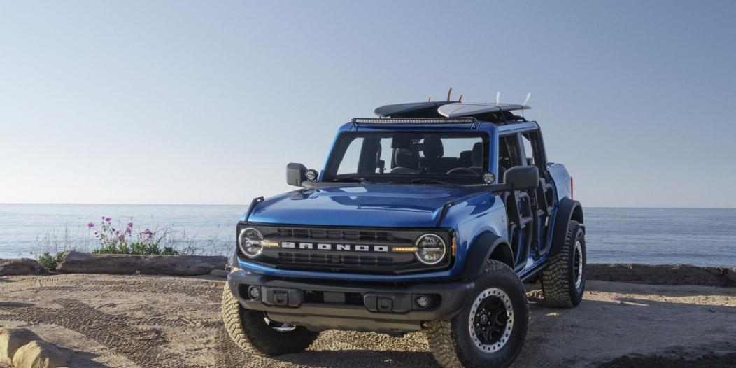 أعلنت فورد عن برونكو Riptide الاختبارية المميزة للرحلات البحرية، وتهدف السيارة لعرض الإكسسوارات والميزات التي توفرها للعملاء.