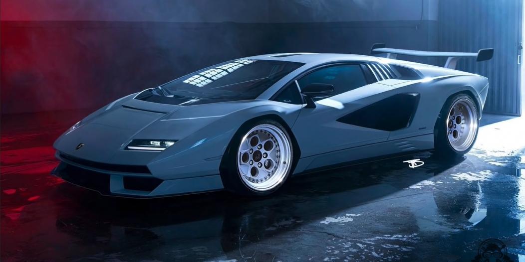 تعتبر لامبورغيني كونتاش سيارة كلاسيكية ملهمة للشركة، وبالفعل فقد وصلت السيارة بجيل جديد ذو تصميم كلاسيكي حديث، ولكن ماذا عن تصميم كلاسيكي حقيقي؟