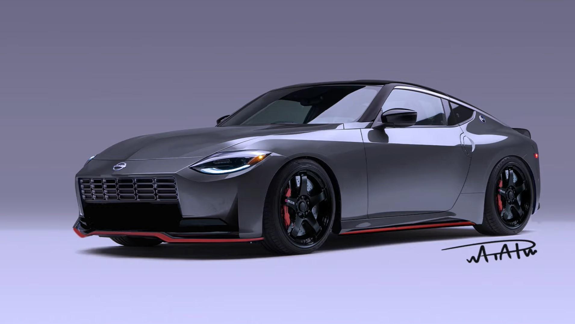 قام مصمم مستقل بوضع لمسات نيسمو على سيارة نيسان Z الجديدة كلياً ليعطي لمحة عما قد تبدو عليه الفئة عالية الأداء.